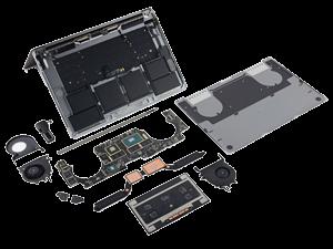 تعمیرات سخت افزاری نوت بوک اپل