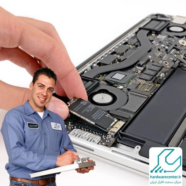 تعمیرات لپ تاپ اپل در محل