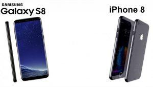 نمایندگی اپل - مقایسه آیفون 8 اپل با گلکسی اس 8 سامسونگ