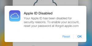 جلوگیری از مسدود شدن اپل آیدی