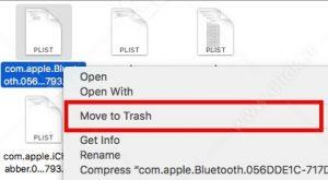 تنظیمات بلوتوث مک بوک اپل