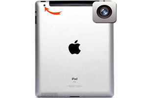 تعمیر دوربین تبلت اپل