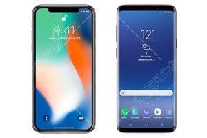 مقایسه آیفون ۱۰ با سامسونگGalaxy S9