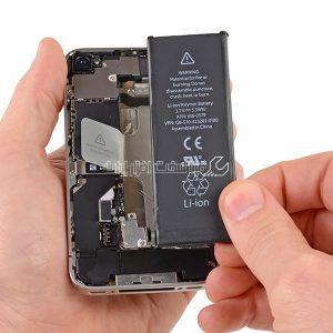تعمیر باتری گوشی اپل