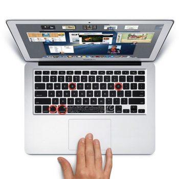 ریست کردن اطلاعات تاچ بار لپ تاپ های اپل