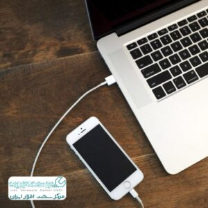 آموزش اتصال موبایل اپل به کامپیوتر