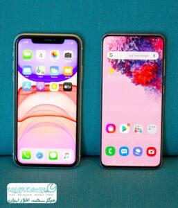موبایل اپل بهتر است یا سامسونگ؟