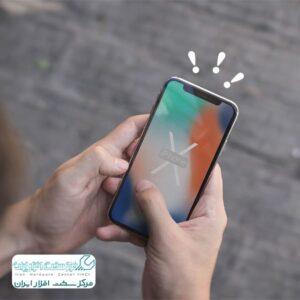 فریز شدن گوشی اپل