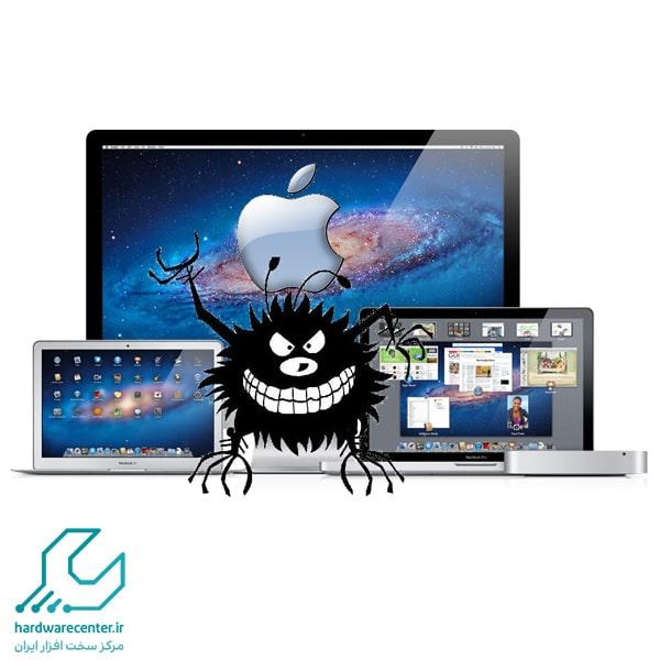 ویروسی شدن کامپیوترهای مک