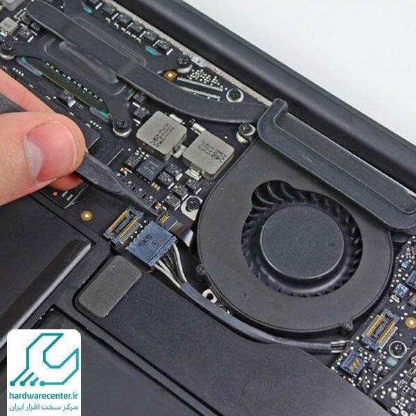 تعمیر فن لپ تاپ اپل