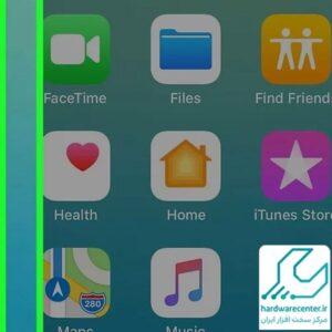 پیدا کردن فایل های دانلود شده در گوشی Apple