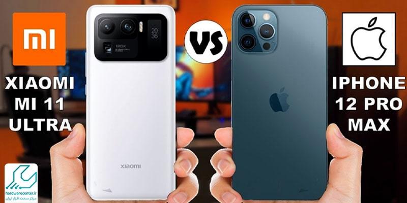 مقایسه گوشی Apple iPhone 11 Pro و Xiaomi Mi 11 Pro